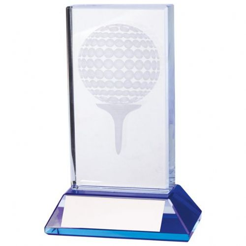 Davenport Golf Crystal Award 110mm